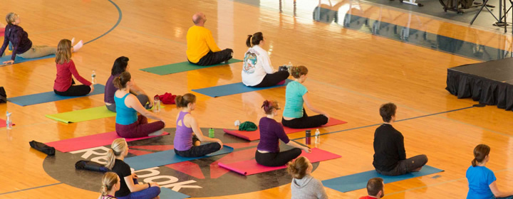 A note from Tara Stiles:  It's not the yoga that heals you.  It's you that heals you.