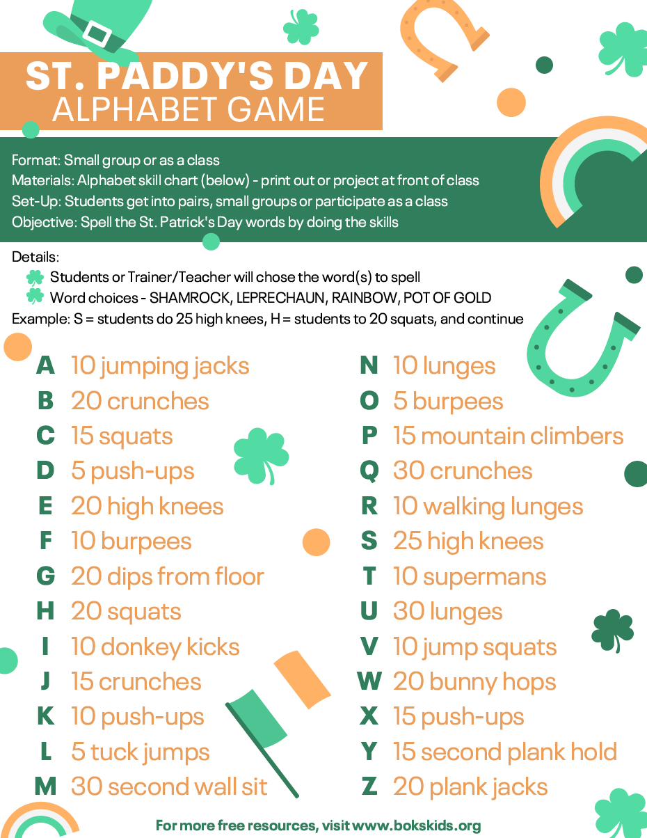 St. Patrick's Day Game for Kids